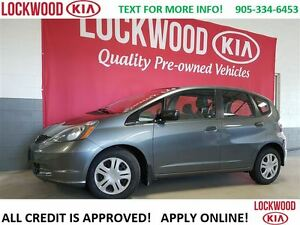 2011 Honda Fit DX-A - ONE OWNER, TRADE-IN LOW KM'S!!!