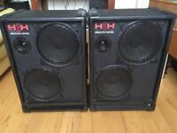HH electronic PA speakers
