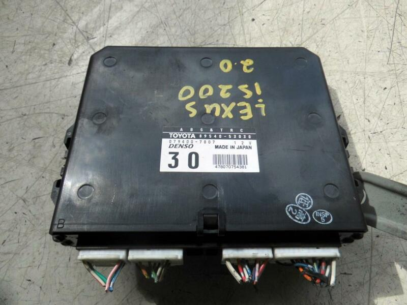2000 Lexus IS200 2.0 Petrol ABS Traction Control Unit 89540-53030