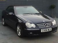 Mercedes CLK 1.8 Petrol automatic HPI clear new mot