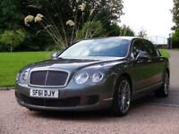 BENTLEY CONTINENTAL FLYING SPUR 6.0 FLYING SPUR SPEED 4d AUTO 600 BHP FREE DELIVER (grey) 2011