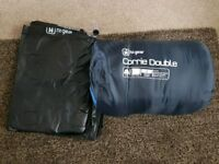 Double Sleeping bag & Double Airbed