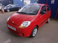 2007 CHEVROLET MATIZ 0.8 5DOOR HATCHBACK, FULL SERVICE HISTORY, HPI CLEAR, VERY CLEAN CAR,