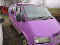 Purple smiley transit Spares or repair good solid engine Relisted