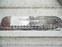 volkswagen transporter t4,mirror polished stainless steel sliding door step plate