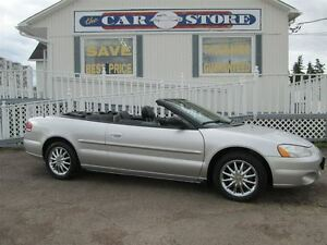 2003 Chrysler Sebring LIMITED!! AUTOMATIC!! A/C!! HTD LTHR!! ALL