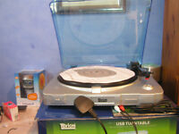 Tevion USB Record Player TurnTable
