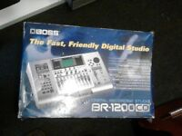 Boss BR - 1200 CD Digital Recording Studio