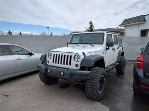2011 Jeep WRANGLER UNLIMITED Rubicon   Lifted   Leather   Hard T