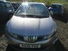 HONDA CIVIC 2.2 i-CTDi ES 5dr FULL SERVICE HISTORY, GOOD LOOKING HONDA DIESEL (silver) 2010