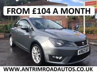 2012 SEAT IBIZA 1.2 TSI FR ** FINANCE AVAILABLE ** NO DEPOSIT NEEDED **
