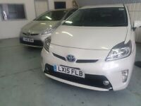 PCO CAR HIRE WITH INSURANCE INCLUDED UBER READY TOYOTA PRIUS PCO CAR TO RENT WITH INSURANCE
