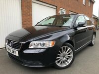 2011 11 Volvo S40 LUX 1.6 Diesel 100,000 Miles+Full VOLVO S/Hist+Cambelt+Lthr+not v50 a4 1.9 2.0 s60
