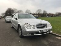 2003 Mercedes Benz E270 CDI Automatic Fully Loaded In Mint Condition