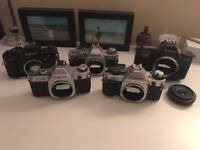 Spares or Repairs: Job Lot 35mm Film Camera collection