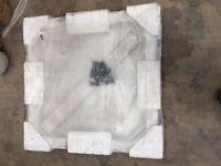 JT MERLIN 900X900 Shower tray white