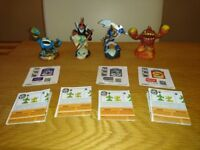 Skylanders Giants Set Of Four Characters As New Condition £2 Each