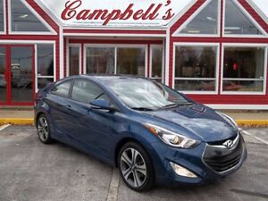 2014 Hyundai Elantra GLS SUNROOF!! HEATED LEATHER!! 17 ALLOYS FU