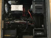 CPU, CPU COOLER, RAM, MOTHERBOARD AND CASE