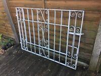 """Wide Garden Gate / Galvanised Steel Gate 55"""" Wide - WR"""