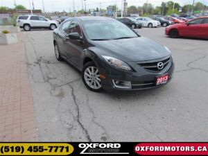 2013 Mazda MAZDA6 GT | LEATHER | ROOF
