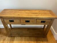 Oak Console Table - Urgent Sale!