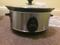 3.5 litre stainless steel slow cooker great for any kitchen