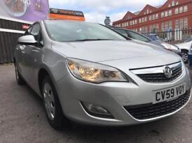 Vauxhall Astra 1.4 i VVT 16v Exclusiv 5dr FULL S/H*WARRANTY*FRESH MOT