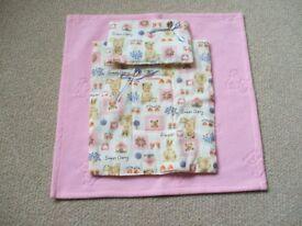 Dolls Blanket, Pillow & Cover