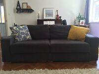 Large Grey Nabru Sofa