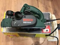 BOSCH ELECTRIC PLANER PHO 16-82 AND DUSTBAG