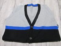 Boys Multi Block Coloured Cardigan