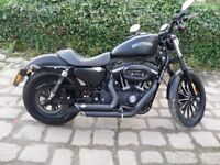 2011 Harley Davidson XL883N Sportster Iron in Denim Black