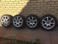 15 inch alloys uniroyal rainsport 2 Peugeot Citroen ford? 4 stud