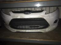 2008-2012 fiesta metal front bumper Zetec s complete ready to fit
