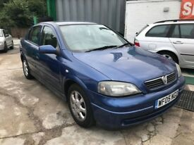 2005 VAUXHALL ASTRA ENJOY 5DR HATCHBACK 1.6 PETROL AUTOMATIC BLUE