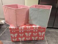 Storage boxes, great condition, smoke and pet free house