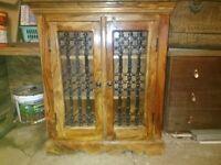 Sheesham Solid Wood bookcase/CD unit