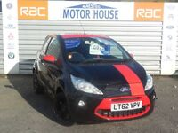Ford KA GRAND PRIX II (LIMITED EDTION) FREE MOT'S AS LONG AS YOU OWN THE CAR!!! (black) 2012