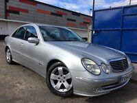 Mercedes-Benz E Class 2.7 E270 CDI Avantgarde, Factory Xenon Lights, Half Leather Seats