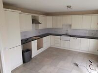 SOLD. Kitchen units and solid granite worktop