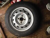 Vauxhall steel wheel