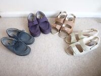 Ladies Cosy Feet Extra Roomy Shoes & Sandals