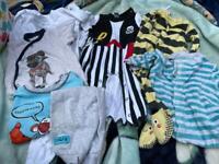 9-12 Month PJ's & Baby Grow Bundle
