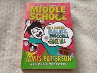 Middle School How I survived Bullies, Broccoliand Snake Hill by James Patterson