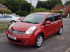 2008 NISSAN NOTE 1.6 ACENTA R 5 DOOR MPV - ONLY 51,000 MILES - FULL SERVICE HISTORY - MOT JUNE 18