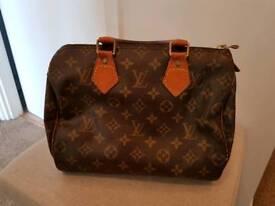 Louis vuitton speedy 25 bag authentic