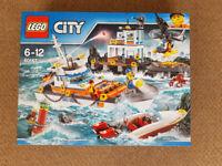Lego 60167 City Coast Guard Headquarters - Brand New