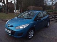 MAZDA 2 63 PLATE 2014 REG BLUE 14,000 MILES ONLY INSURANCE CAT C EXCELLENT CONDITION INSIDE AND OUT