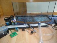 Juwel vision 180 litre aquarium in beech